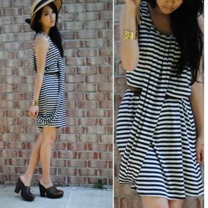 Jean Paul Gaultier for Target Stripe Draped Dress
